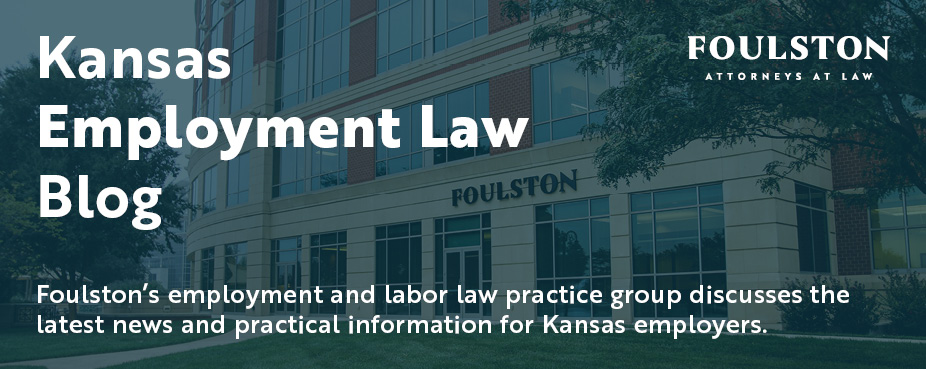 Kansas Employment Law Blog Photo